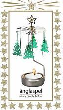 New Rotary Tea Light Candle Holder - Christmas Tree