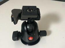 Manfrotto 496Rc2 Ball Head Tripod Head w Camera Plate Near Mint Works Great