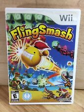 Fling Smash NINTENDO Wii Video Game Complete Case Manual Tested Working P11-10