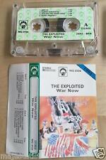 THE EXPLOITED - War now MC RARE 1'ST POLISH PRESS 1991
