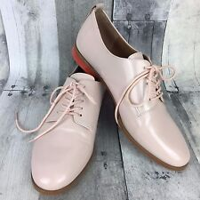 Calvin Klein Women's Shoes Size 6 Camella Lace-up Oxford Shoe Pink