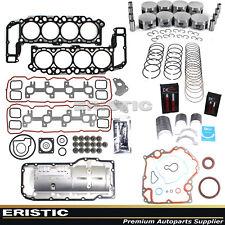 Engine Rebuild Kit 99-03 4.7L Dodge Jeep 287 Full Gasket Piston Bearing Ring Set