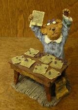 Boyds Bearstone #228394 Bessie Winsalot.Bingo! 1st Ed., Nib From Retail Shop