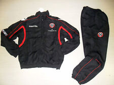 5845 MACRON SHEFFIELD TUTA TRAININGSANZUG 2011 TRACKSUIT L