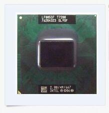 Intel Core 2 Duo T7200 SL9SF 2.0GHz/4M/667MHz CPU LF80537GF0414M BX80537T7200