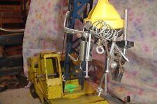 large    toy crane.  custom magnet.