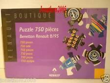 PUZZLE BENETTON RENAULT B195 N° 1 MICHAEL SCHUMACHER