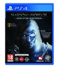 Middle Earth: Shadow of Mordor -- Game of the Year Edition Sony PlayStation 4 E…