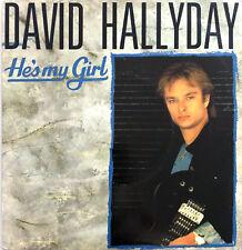 "David Hallyday 7"" He's My Girl - France (VG+/EX)"