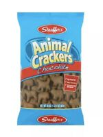 Lot 4 Large Bags Stauffers Chocolate Animal Crackers 20 oz Each