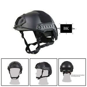 Tactical Fast Helmet Bump MICH Ballistic MH Type NVG Shroud Side Rail New