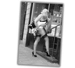 """Photo Vintage Pin-up Classic in shop Retro Girl Glossy Size """"4 x 6"""" inch P"""
