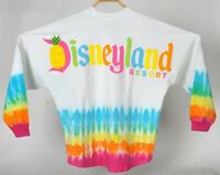 NEW NWT Disney World Parks Dip Tie Dye Pineapple Summer Citrus Spirit Jersey L