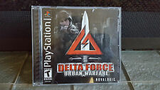 Delta Force Urban Warfare for Sony Playstation PS1 Complete - Great Condition