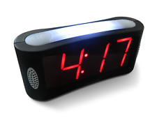 Travelwey Home Led Digital Alarm Clock - Outlet Powered, No Frills Simple Large