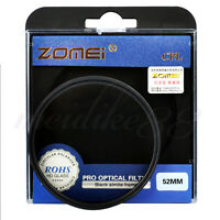 Zomei 52mm CIR-PL Circular Polarizing CPL Filter For Canon Nikon Camera Lens