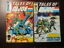 LOT OF 2 TALES OF G.I. JOE #1 + 2 JANUARY FEBRUARY 1988 NM NEAR MINT 9.4 MARVEL