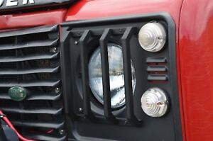 Land Rover Defender 90 110 130 Headlight Guard / Head Light Lamp Grill Guards