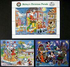 DISNEY STAMPS 1988 MNH GRENADA GRENADINES MICKEY'S CHRISTMAS PARADE SHEET & SS