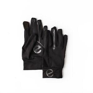 eGLOVE Sport Run - Black Touchscreen Running Gloves - END OF LINE