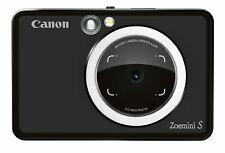 Canon Zoemini S Sofortbildkamera und Mini-Fotodrucker - Schwarz