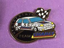 pins pin badge car renault 5 turbo team charly chrono