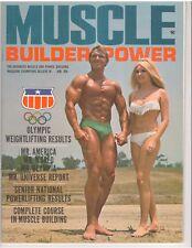 MUSCLE BUILDER bodybuilding magazine/CHARLES FAUTZ/Dave Draper/Sergio Oliva1-69