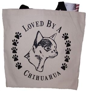 Chihuahua Tote Bags New  MADE IN USA Lot of 10