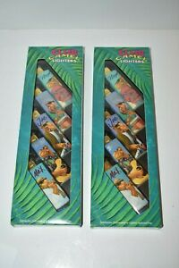 Two Boxes Vintage 1992 Camel Club Joe Cool Lighters in Original Boxes