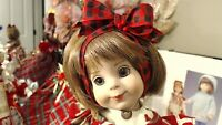"BETSY MCCALL TONNER 1998 14"" NEW WIG~EYES! ""MAKING GINGERBREAD"" OUTFIT + STAND!"