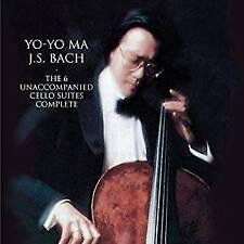 Yo-Yo Ma - Bach: Unaccompanied Cello Suit Original recording remastere (NEW 2CD)