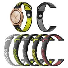 20mm Silicone Porous Watchband Bracelet Wrist Band Strap For Samsung Galaxy 42mm