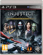 INJUSTICE GODS AMONG US ULTIMATE EDITION PS3 BRAND NEW AND SEALED