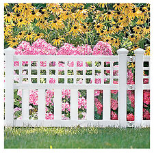 New listing White Grand View Fence, 20-1/2 x 24-In.