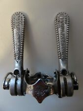 Vintage Campagnolo 60's  Record 1014 Band on Friction shifters 4 Colnago RARE