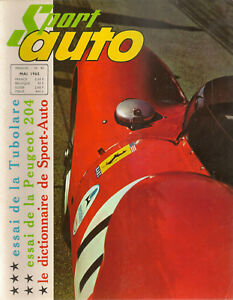 SPORT AUTO 40 1965 ESSAIS 24H DU MANS ALFA ROMEO GTZ 12H SEBRING PEUGEOT 204