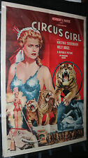 Circus Girl Movie Poster - Kristina Soderbaum (C-7) 1954