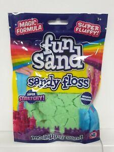 HTI Fun Sand Sandy Floss Modelling Sand - Green NEW