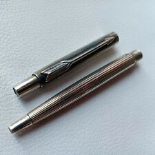 Vintage Parker Jotter Sliver Plated Ballpoint Pen USED Conditions USA.