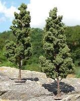 "LAUB Bäume Pappel 2 STÜCK 18cm HÖHE passend zu 1:32 ""MADE in GERMANY""         2P"
