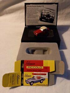 Schuco Piccolo 1/87 Austin Healey #12 Limited Edition MIB RARE