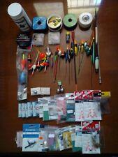 Stock attrezzatura pesca bolognese