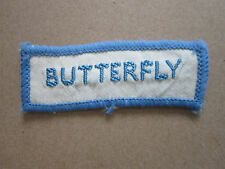 Butterfly (Style 2) Woven Cloth Patch Badge