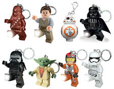 OFFICIAL STAR WARS LEGO KEY LIGHT TORCH KEYRING NEW GIFT