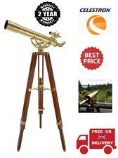 Celestron Ambassador 80 AZ 3.1 /80mm Brass Refractor Telescope Kit (UK Stock)