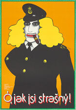 Original Vintage Poster Get Charlie Tully Cliff Owen Movie Film Czech Crime Fun
