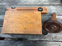 Antique Cusson's Tripod & Capston Physics Demonstrator Science Tools Set w Box