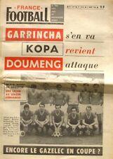 France Football n°1147-1968-FC ROUEN-KOPA-GAZELEC-GARINCHA-DOUMENG-