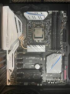 Intel Core i7-6700K 4.0 GHz Quad-Core Processor w/ Asus Z170-Deluxe Motherboard