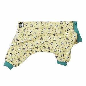 Counting Sheep Dog Pajamas - XS - Yellow & Blue PJs - PetRageous Designs - NWT